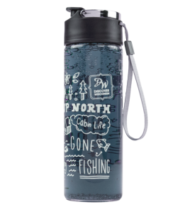 "Official ""Discover Wisconsin"" Water Bottle"